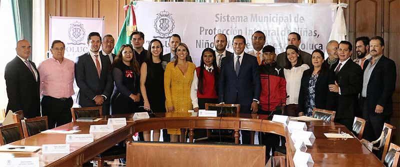 Niñas y niños son prioritarios en los ejes de trabajo del gobierno de Toluca: Juan Rodolfo Sánchez Gómez