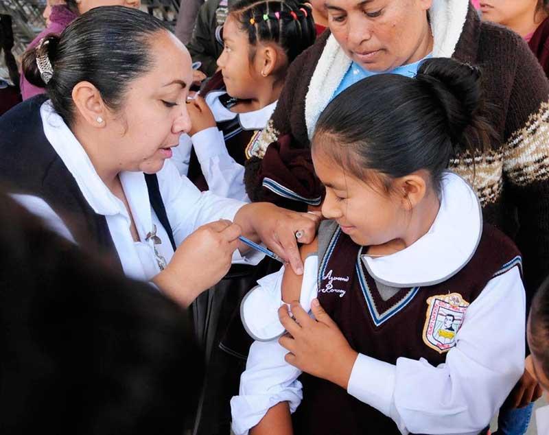 ISEM aplica más de 129 mil vacunas contra el virus de papiloma humano en la semana nacional de salud