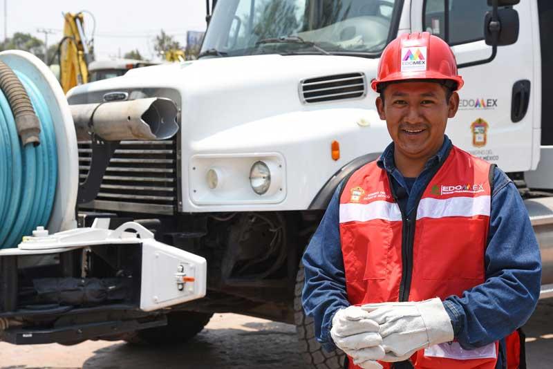 Grupo Tláloc trabaja para prevenir anegaciones en la temporada de lluvias