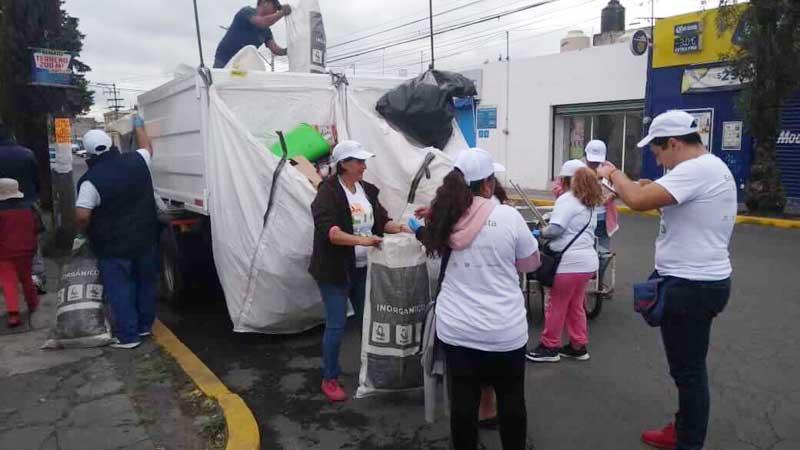 En jornadas de limpieza se recolectan más de 39 toneladas de basura en Toluca