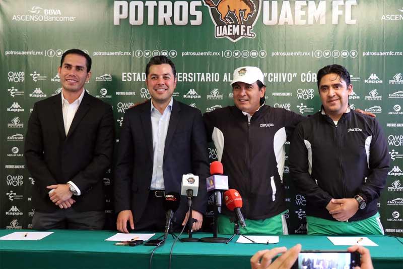 Potros FC ratifica a David Rangel como Director Técnico