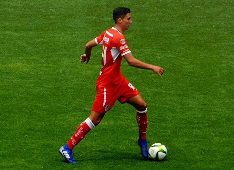 Adrian Mora vuelve al Toluca