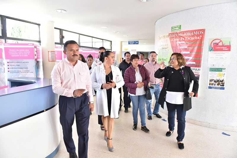 Hospitales de la zona norte carecen de inventarios incompletos de medicamentos y falta de personal