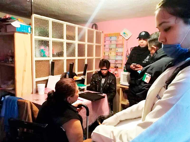 Producía pornografía infantil en Toluca, policías rescatan a una niña durante el cateo