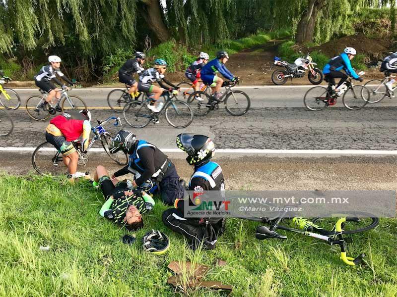 Mas de 5 mil asistentes en el Tour de France etapa Edoméx