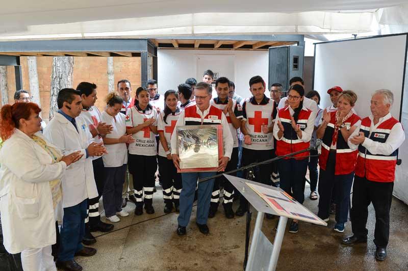 La Cruz Roja de Avándaro atiende el 30% de servicios en la zona poniente del Edomex