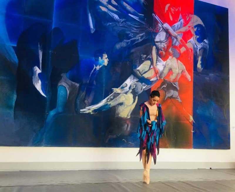 Compañía de danza del Edoméx rinde homenaje a Leopoldo Flores