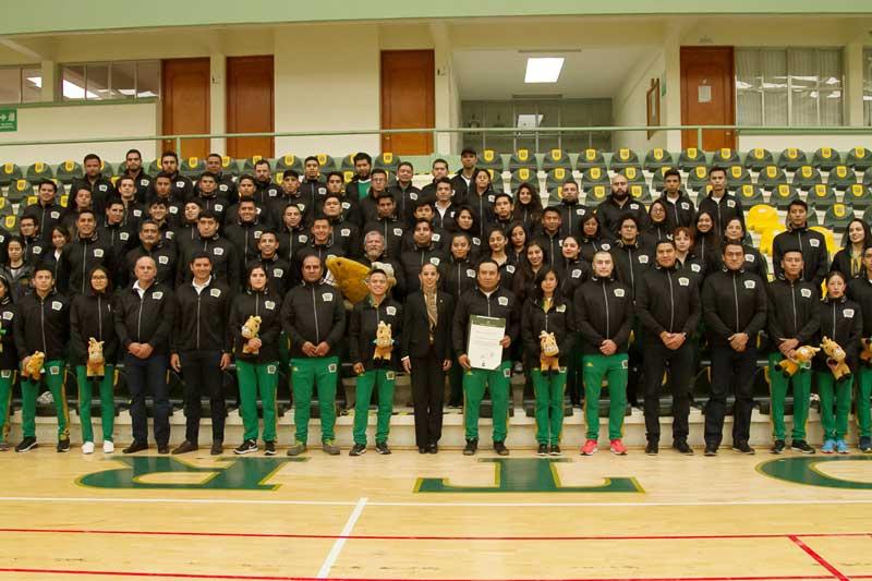 UAEM reconocen a deportistas que participaron en la Universiada Nacional