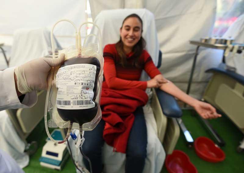 Sé un héroe ¡Dona Sangre!