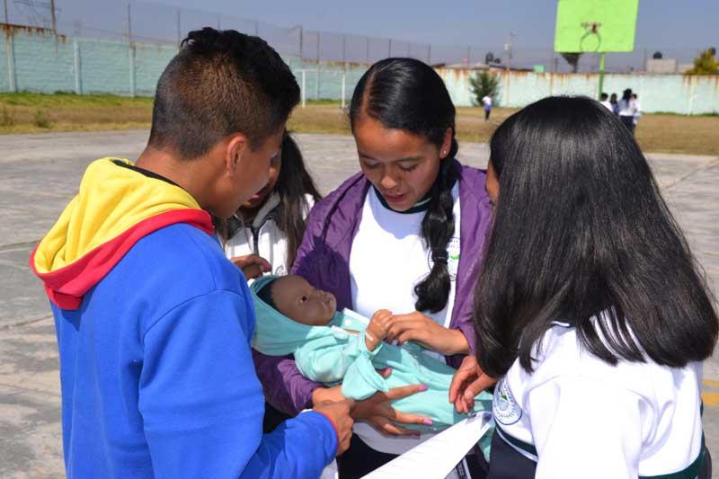 Sensibilizan a jóvenes en prevención del embarazo adolescente