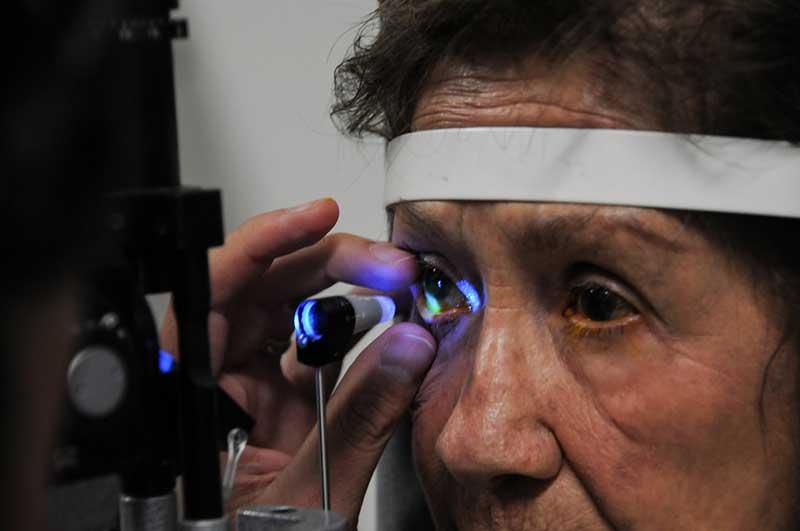 ISEM brinda diagnóstico y atención gratuita a personas con glaucoma