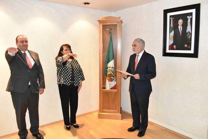 Asumen cargo nuevos coordinadores en el Instituto de Salud del Edoméx