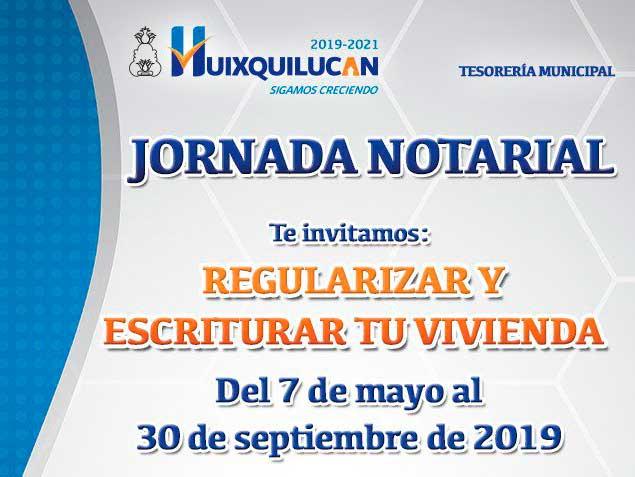 Continúa la jornada notarial en Huixquilucan