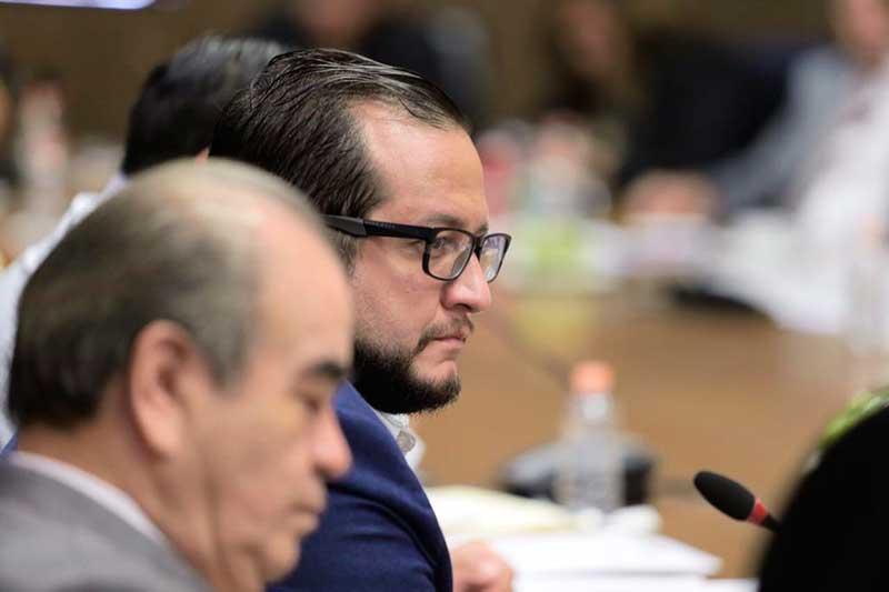 Diputados de Morena se reúnen en privado con Jose Ramón López, hijo del presidente de México