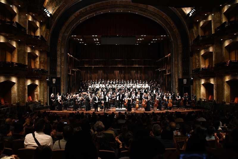 Las OSEM cierra temporada de conciertos 140 en Bellas Artes