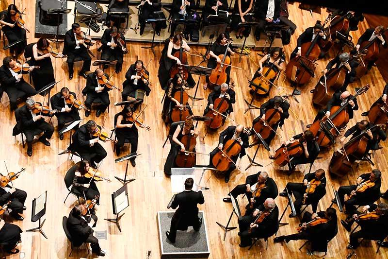 La Orquesta Sinfónica del Edoméx prepara concierto en Palacio de Bellas Artes