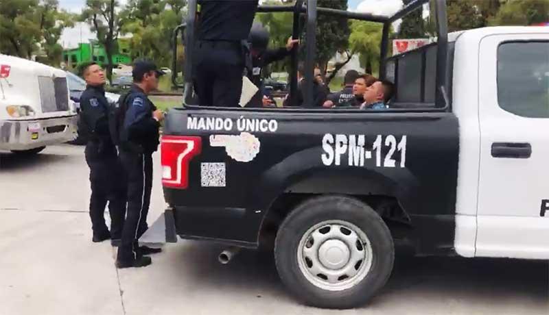 Los sujetos de la persecución en Lerma están vinculados a robos a casa habitación