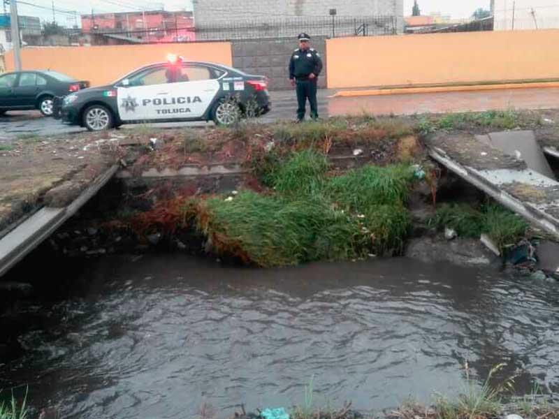 Son monitoreados siete puntos susceptibles de inundación en Toluca