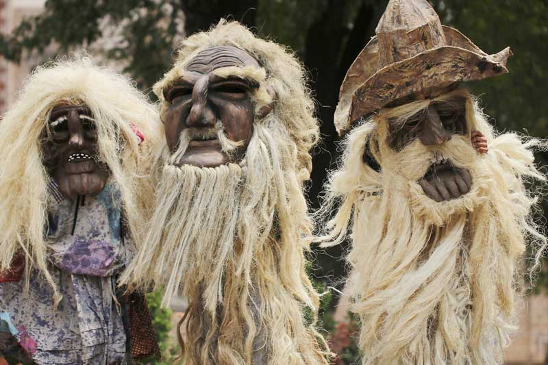 Los viejos de Corpus es una celebración ancestral de Temascalcingo