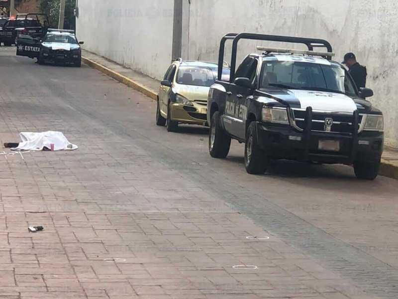 Mueren policía estatal y presunto asaltante de pasajeros en Villa de Carbón