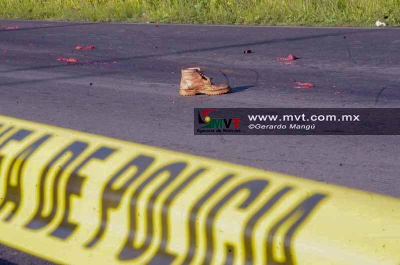 Muere ciclista atropellado en carretera a Almoloya