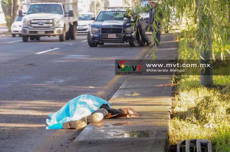 Muere peatón atropellado en la vía Palmillas