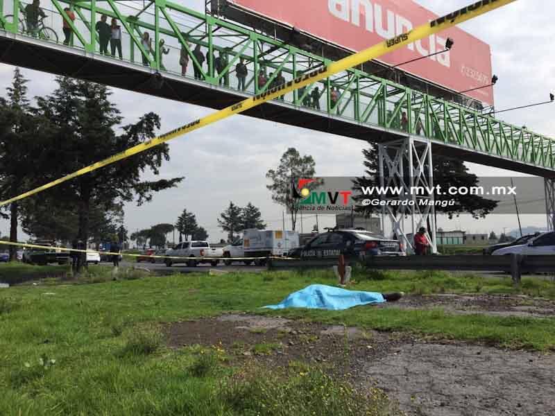 Patrulla atropella a ciclista bajo un puente en la vía a Palmillas