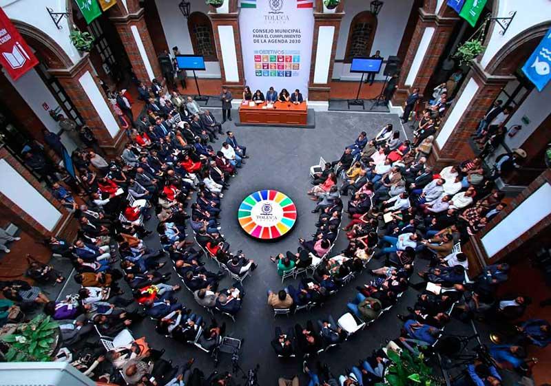 Asume el municipio de Toluca su responsabilidad respecto a nuestro planeta y la humanidad: JRSG
