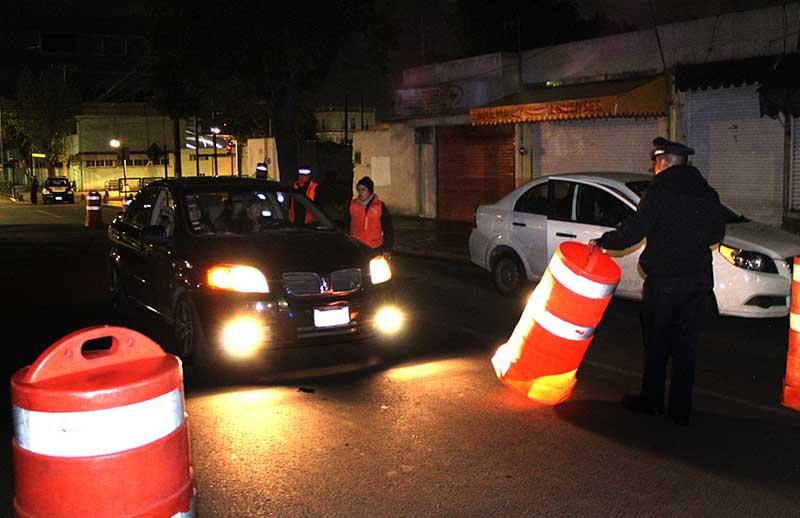 """Han sido remitidos al """"diablito"""" de Toluca 566 personas por conducir ebrios"""
