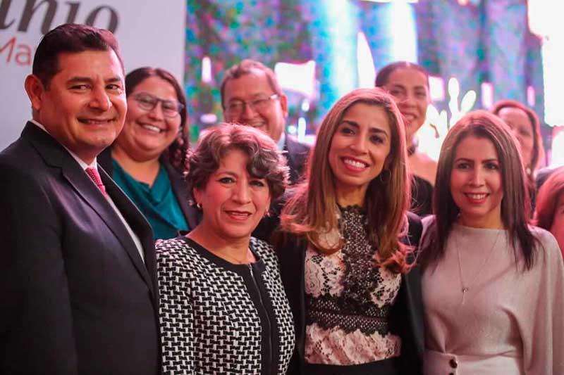 Edomex con avance del 80 por ciento en programas sociales: Delfina Gómez