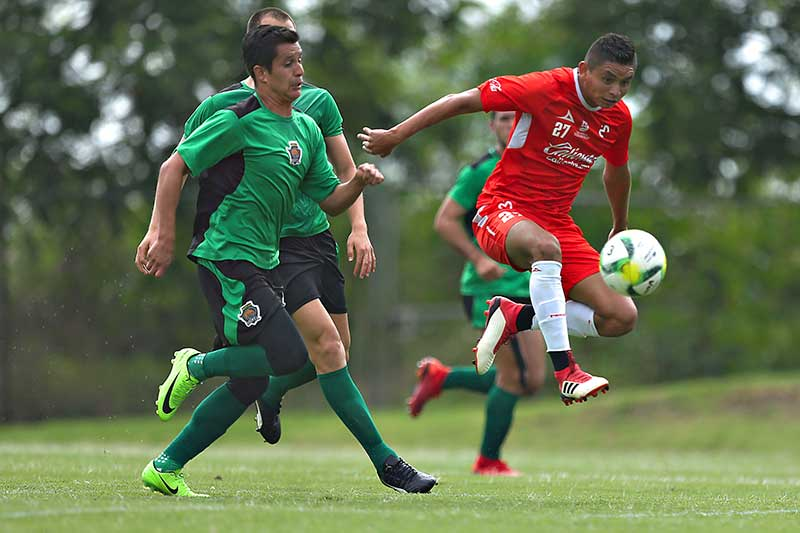 Potros UAEM se enfrentó a Monarcas Morelia en partido de preparación