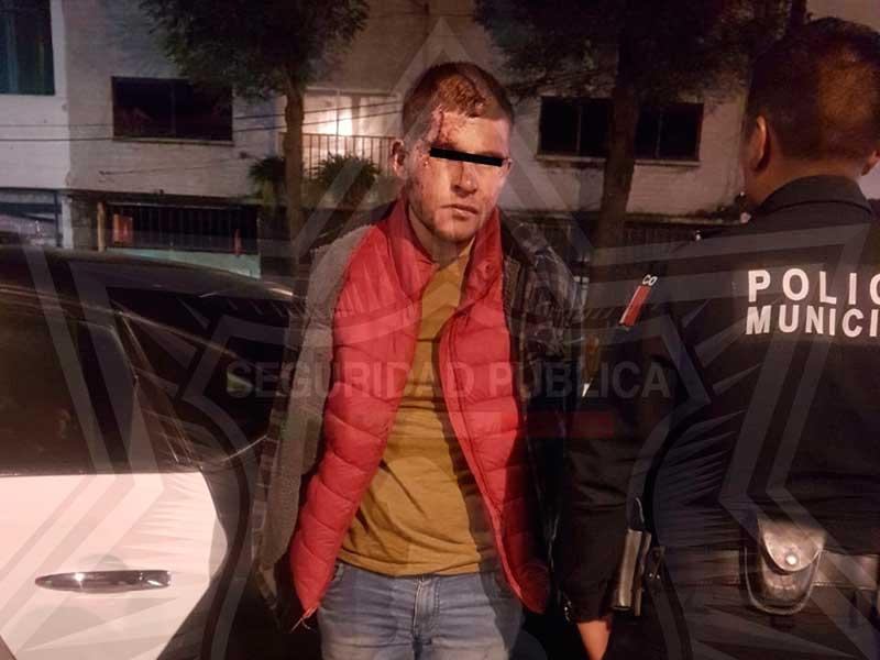Policía de Toluca captura a asaltante de tiendas Oxxo