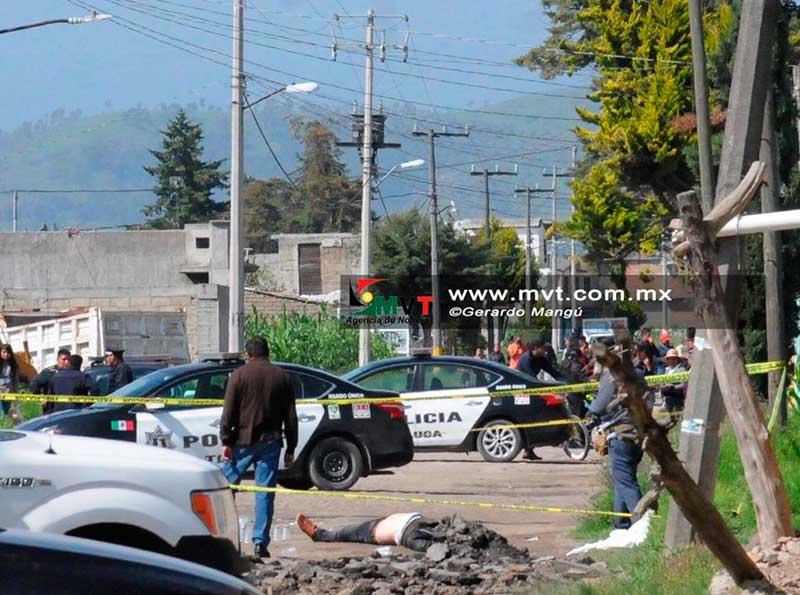 Asesinan a tres personas a balazos en la zona norte de Toluca