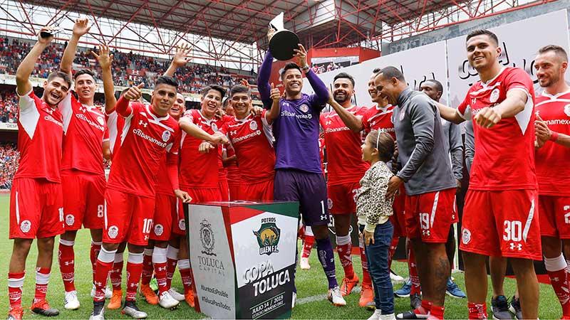Los Diablos vencen a Potros UAEM y se adjudican la primer edición de la Copa Toluca