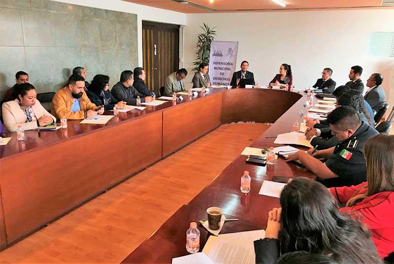 Revisarán en Toluca los protocolos de servidores públicos en Derechos Humanos