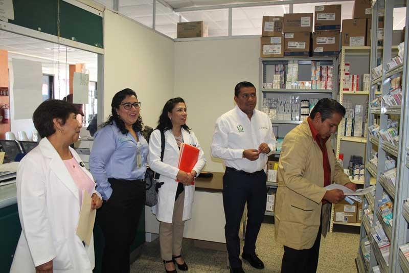 La delegación del IMSS poniente es primer lugar nacional en surtimiento de recetas