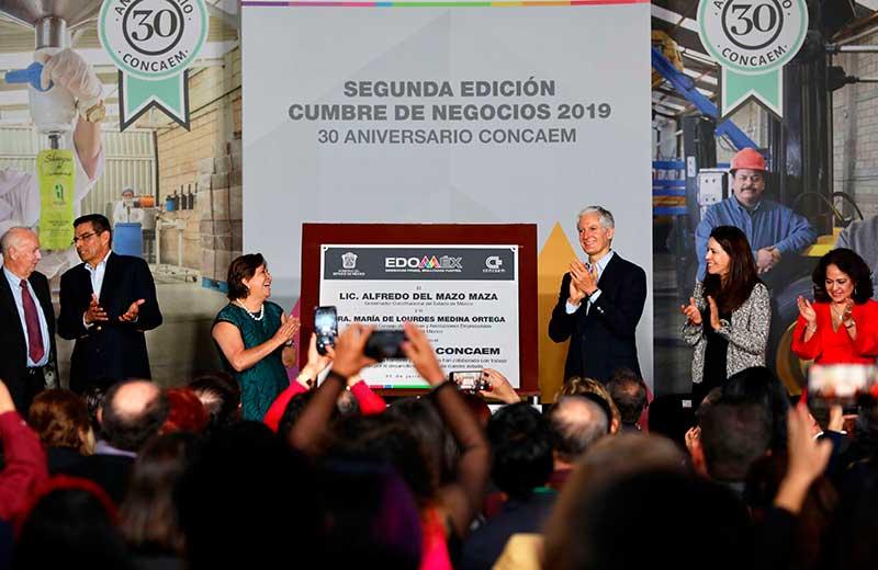 Gobernador Alfredo del Mazo destaca calificación crediticia de A+ que otorgada por agencias internacionales al Edoméx