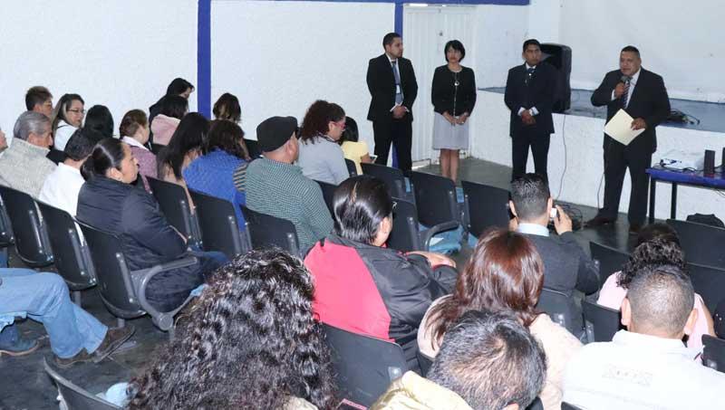 En Huixquilucan se capacitan en materia de derechos humanos