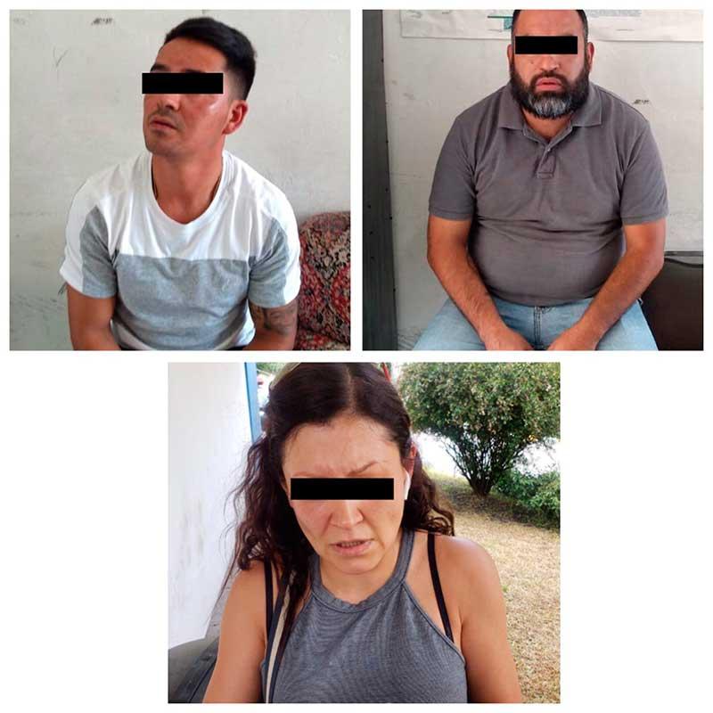 Detienen a 3 extranjeros en la Herradura, Huixquilucan