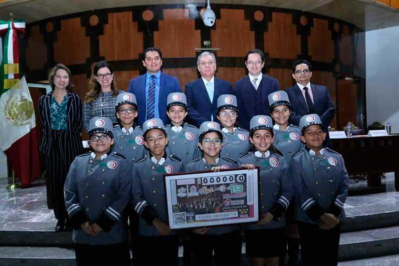 La OFiT ya forma parte de la historia de la Lotería Nacional