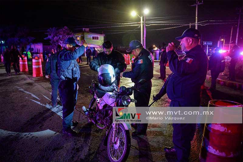 En Operativo Coordinado policías detienen a presunto ladrón en la zona norte de Toluca