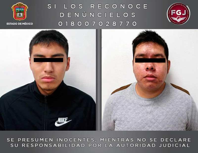 Capturan a los probables secuestradores de dos hermanos en Metepec