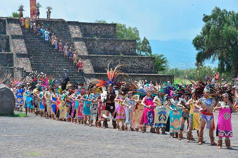 Se enciende en Teotihuacán el fuego nuevo rumbo a los Panamericanos de Lima 2019