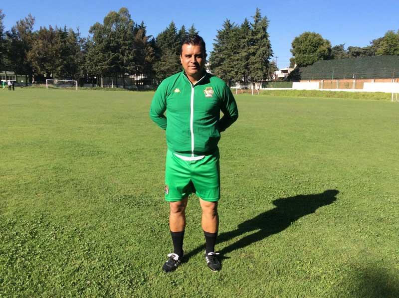 Uzziel Lozano es nuevo director técnico de Potros UAEM FC, tercera división