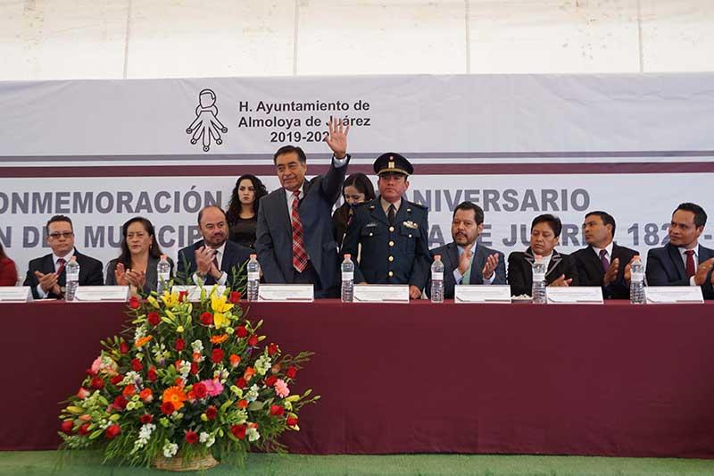 Almoloya de Juárez conmemora el CXCIII aniversario de la erección del municipio