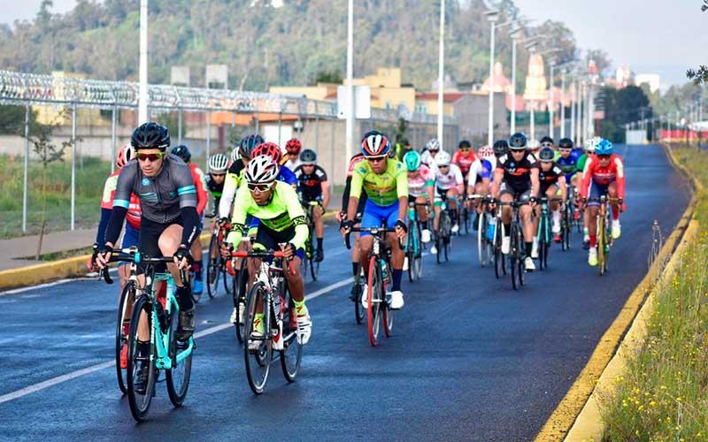 Metepec albergó el campeonato regional de ciclismo