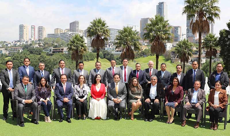 Firma gobierno de Huixquilucan convenio de coordinación con el Copladem y otros municipios