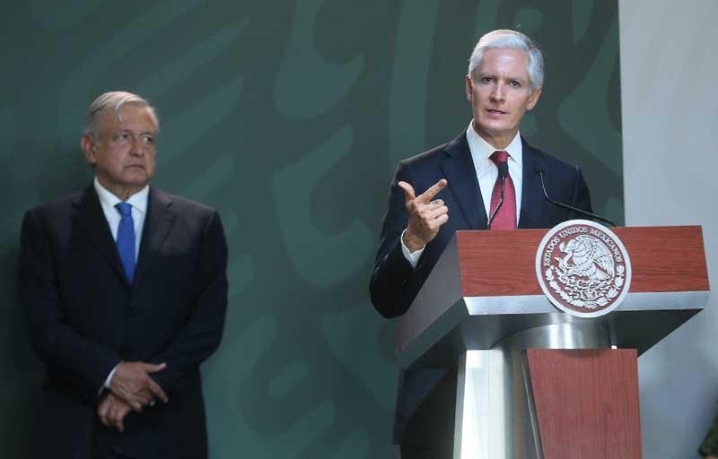 Destaca gobernador del Edoméx disminución en los delitos de alto impacto