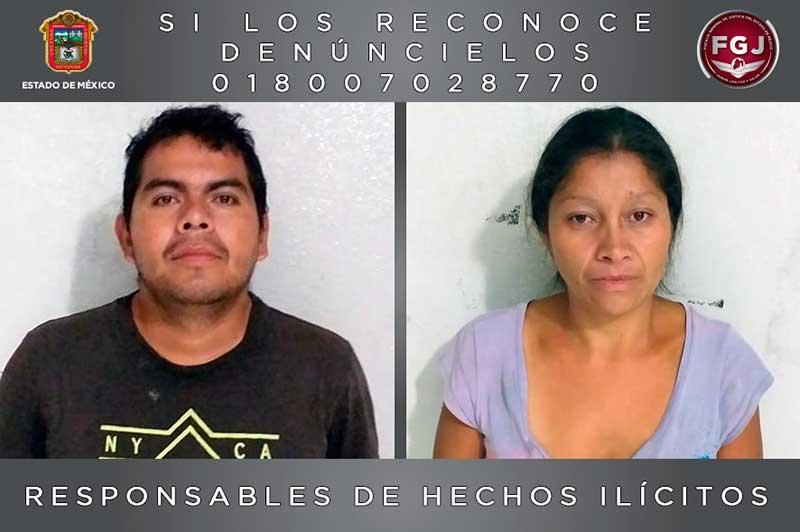 La pareja de Ecatepec suma 184 años de prisión en condenas por múltiples feminicidios