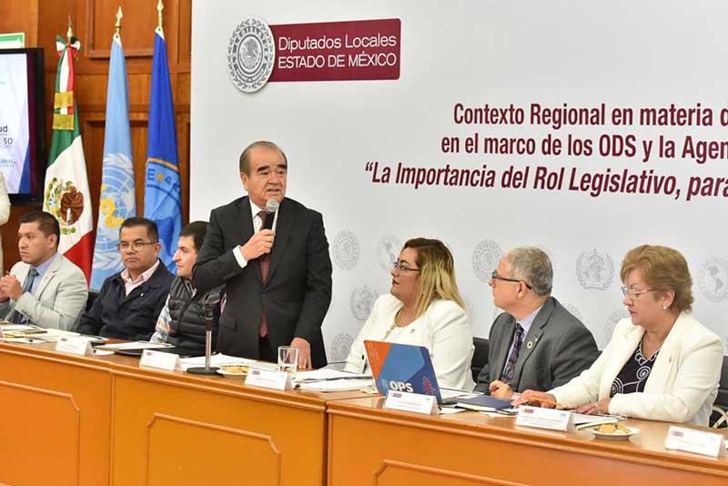 Necesario un marco jurídico vanguardista en materia de salud: Maurilio Hernández